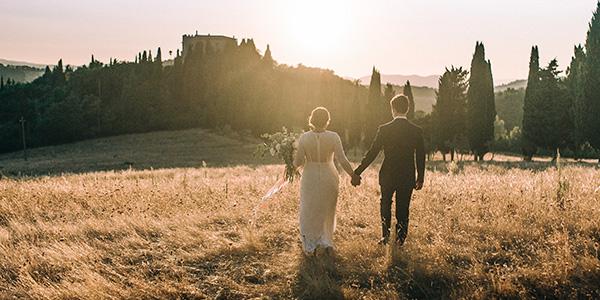Yaël & Hugo / Trouwen in Toscane Italië
