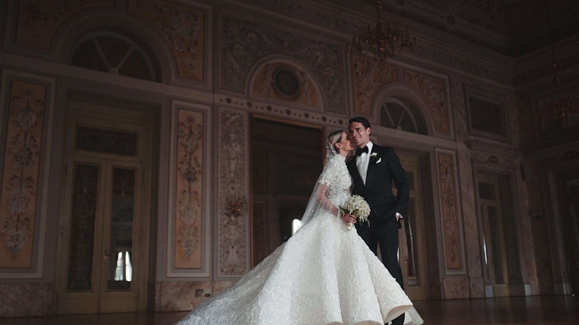 Elegant luxury wedding film Florence Italy / Camila & Anthony